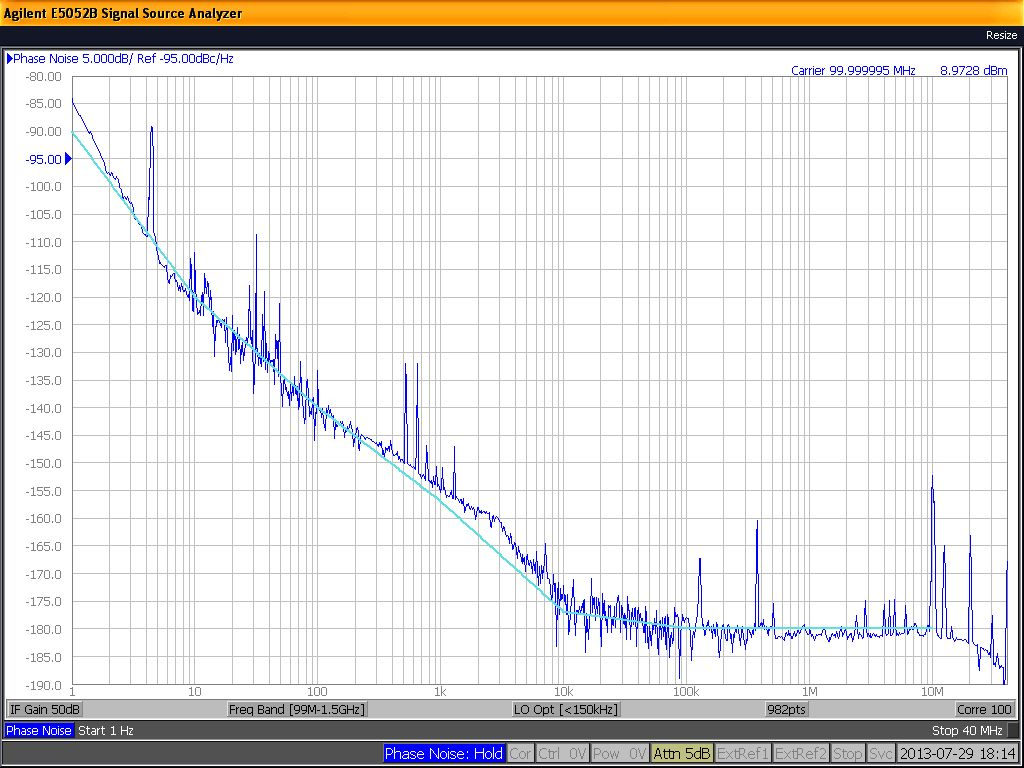 100 MHz Oscillator